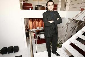 Pr. Marcos Feliciano em sua casa em Orlandia-SP
