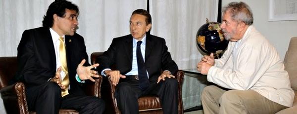 Lobão e Lula