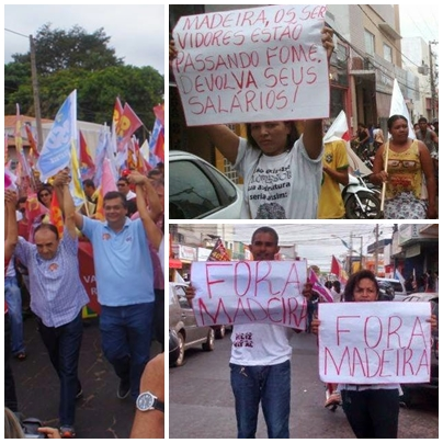 MADEIIRA PROTESTO