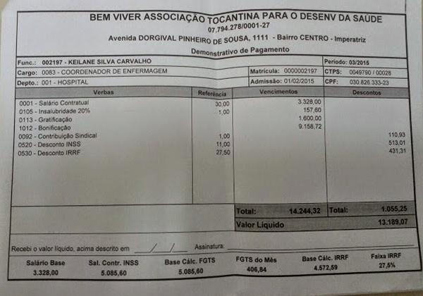 Contra-cheque