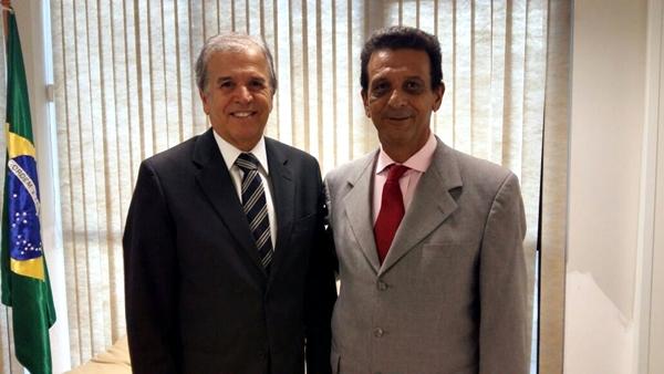 Juscelino e Ministro