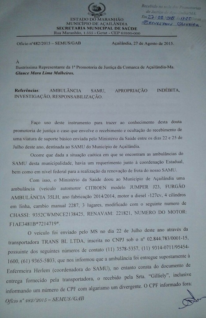 Documento MP