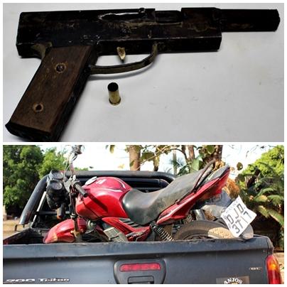 moto e arma
