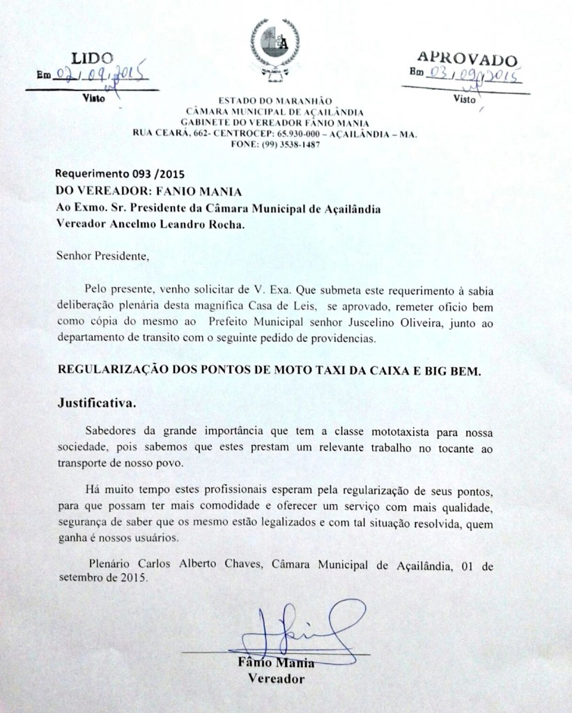 Fanio Documento