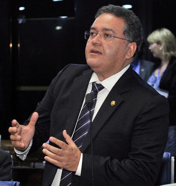 Plenário do Senado durante sessão deliberativa ordinária.Em discurso, senador Roberto Rocha (PSB-MA).Foto: Waldemir Barreto/Agência Senado.