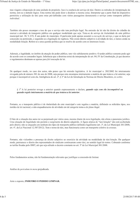 decisão sinprava-4