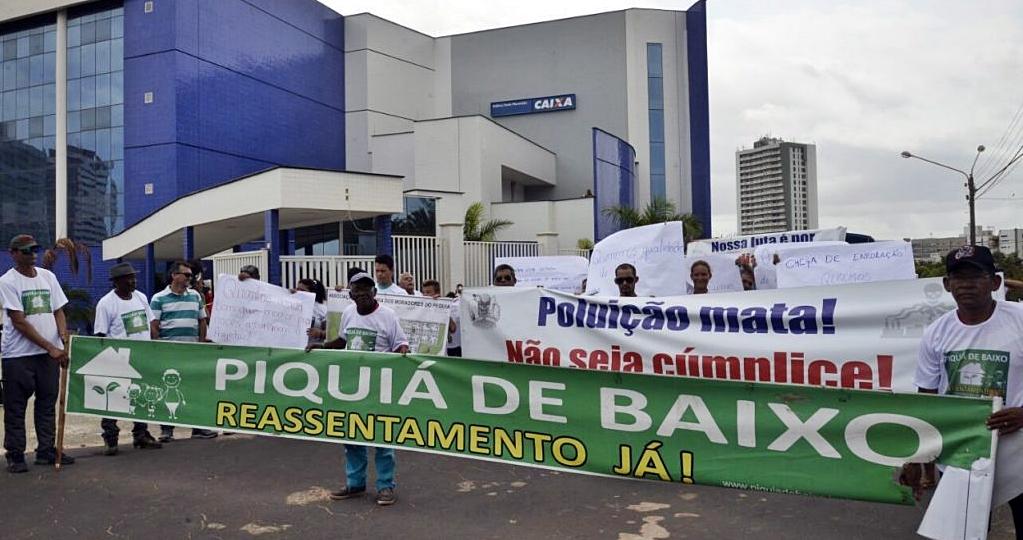 Protesto Piquiá