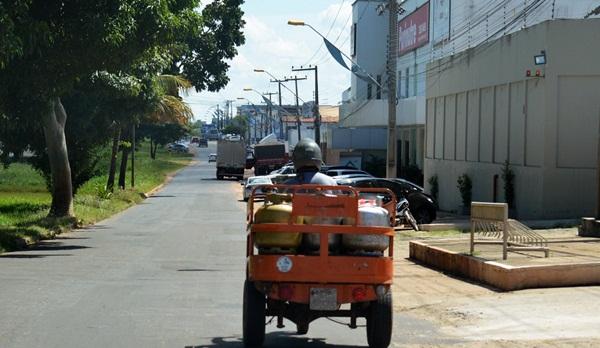 Transporte de Gás em ITZ