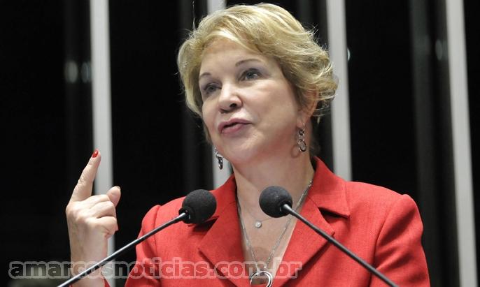 Senadora Marta Suplicy (PT-SP) pede aprovação de proposta que combate guerra dos portos