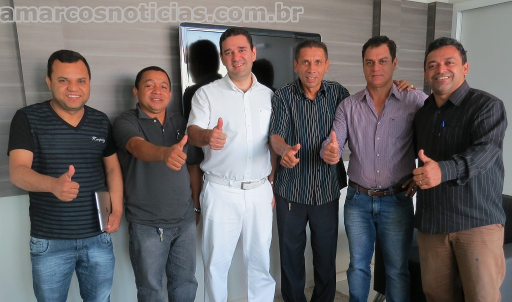 Pr. Cavalcante, Benjamil e Geraldo