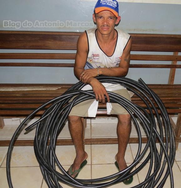 Ladrão de fios de cobre