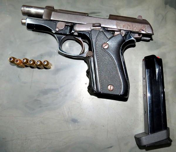 Pistola do Juscelino