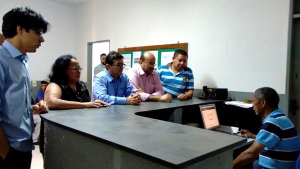 Vereadores na Delegacia