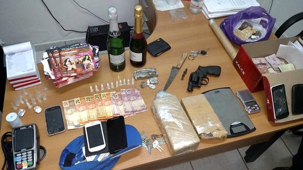 Droga e arma
