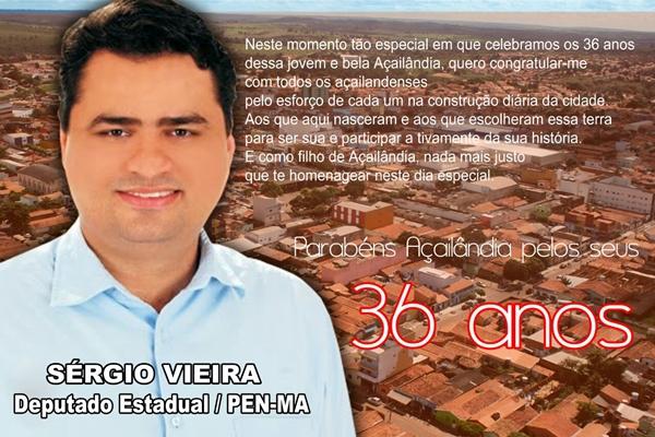 Mensagem Sergio Vieira